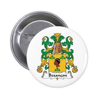 Besancon Family Crest Button