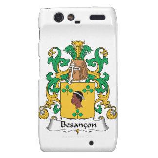 Besancon Family Crest Motorola Droid RAZR Covers