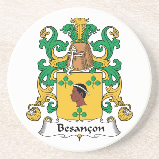 Besancon Family Crest Coasters