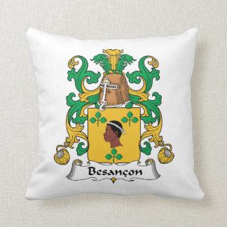 Besancon Family Crest Pillow