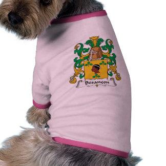 Besancon Family Crest Pet Shirt