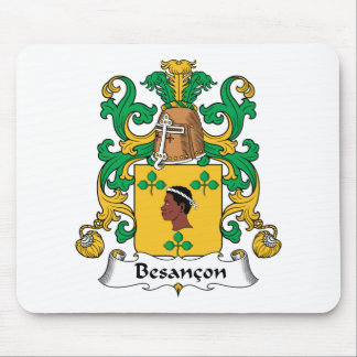 Besancon Family Crest Mouse Pad