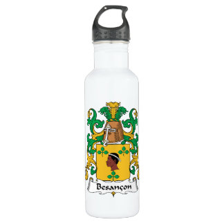 Besancon Family Crest 24oz Water Bottle