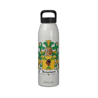 Besancon Family Crest Drinking Bottles