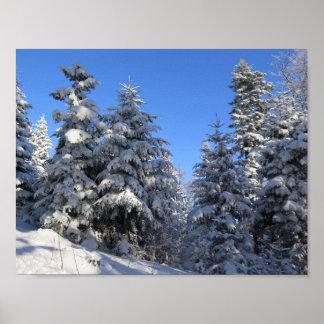 Beskids Winter Poster