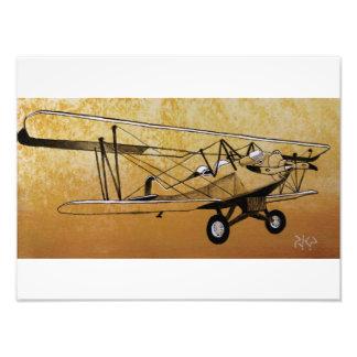 Besler Steam Biplane Photo Art