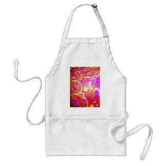 bespoke apron with original artwork