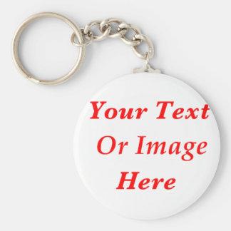 Bespoke Custom Key Ring