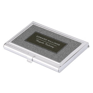 Bespoke Tailor Men's Fashion Weave Business Card Holder