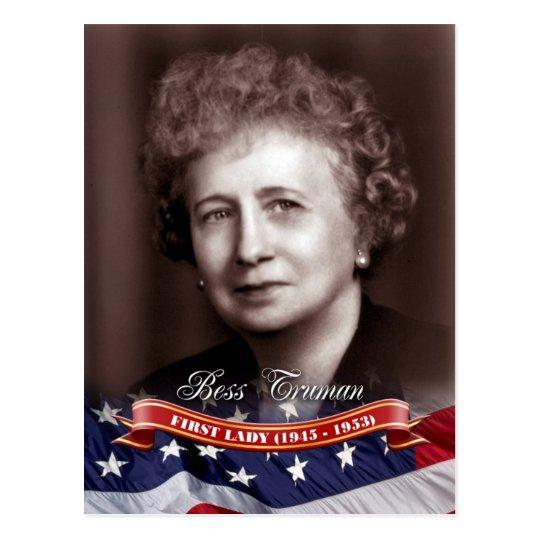 Bess Truman, First Lady of the U.S Postcard