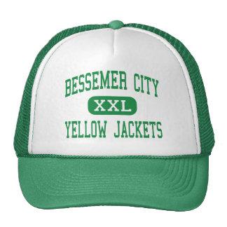 Bessemer City - Yellow Jackets - Bessemer City Mesh Hats