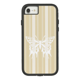 Besswax Victorian Stripe with Butterfly Case-Mate Tough Extreme iPhone 8/7 Case