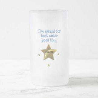 Best Actor-Dennis Frosted Glass Mug