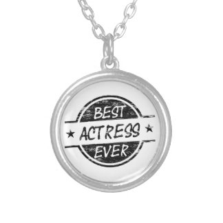 Best Actress Ever Black.png Necklace