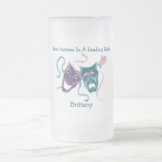 Best Actress/Leading Role: Brttany Frosted Glass Mug