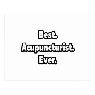 Best. Acupuncturist. Ever. Postcard