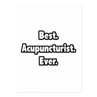 Best. Acupuncturist. Ever. Postcard