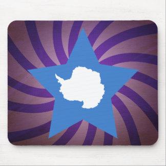 Best Antarctica Flag Design Mouse Pad