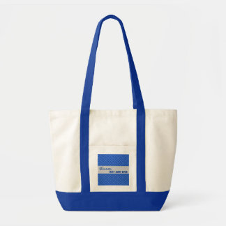 Best Aunt Ever Custom Name Geo Pattern Template Impulse Tote Bag