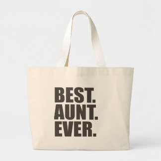 Best. Aunt. Ever. Jumbo Tote Bag