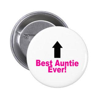 Best Auntie Ever 6 Cm Round Badge