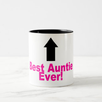 Best Auntie Ever Two-Tone Coffee Mug