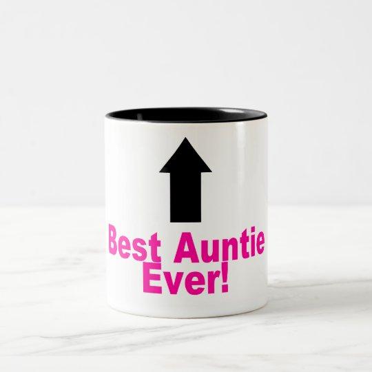 Best Auntie Ever Two-Tone Coffee Mug