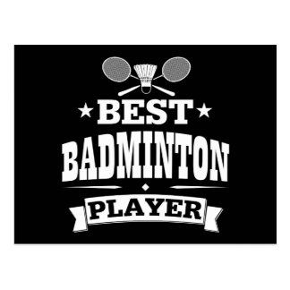 Best Badminton Player Postcard