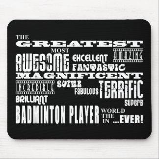 Best Badminton Players Greatest Badminton Player Mouse Mat