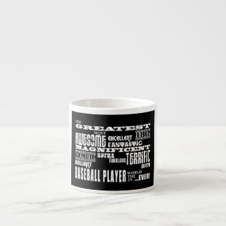 Best Baseball Players Greatest Baseball Player Espresso Cup