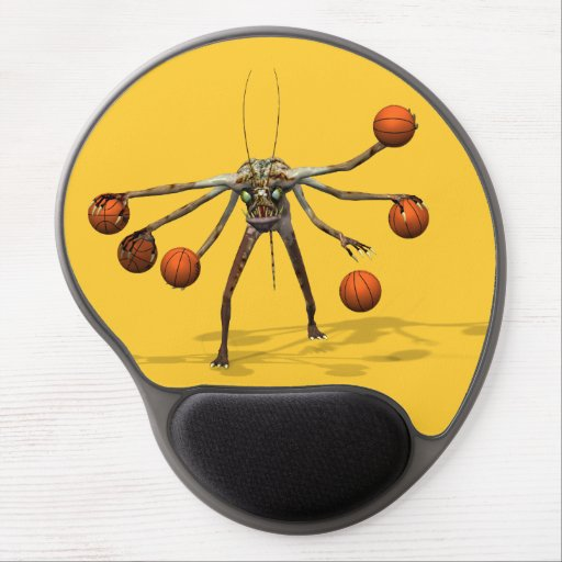 Best Basketball Dribbler Gel Mousepad