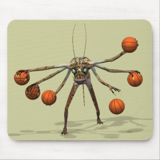 Best Basketball Dribbler Mouse Pad