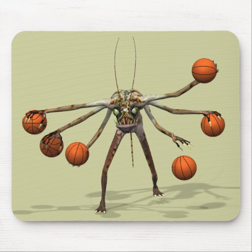 Best Basketball Dribbler Mouse Pads