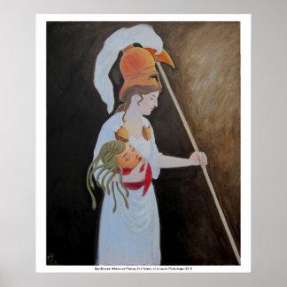 Best Beloved: Athena and Medusa, 2nd version Poster