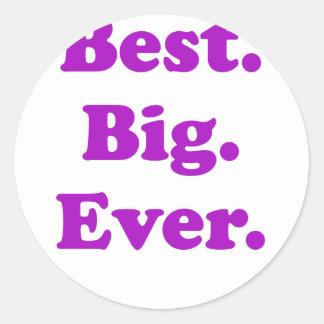 Best Big Ever Sticker