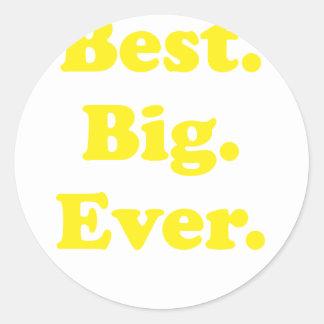 Best Big Ever Stickers