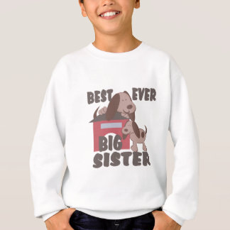 Best Big Sister Ever/ Doghouse Sweatshirt