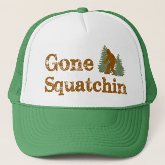 Best Bobo's Gone Squatchin Trucker Hat Ever!