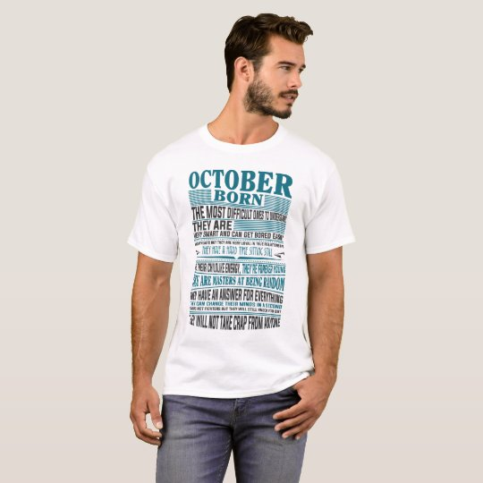 Best Born in October present for mens &