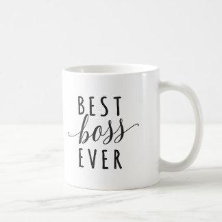 Best Boss Ever coffee mug