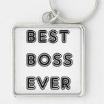 Best Boss Ever Key Chain
