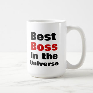 Best Boss in the Universe Coffee Mug