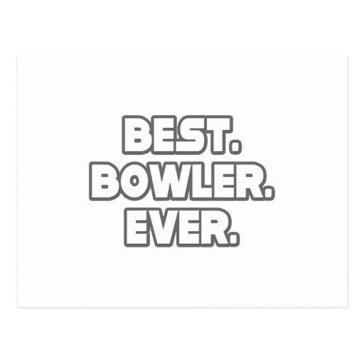 Best Bowler Ever Postcard