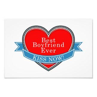 Best Boyfriend Ever Photo Print