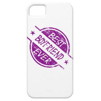 Best Boyfriend Ever Purple iPhone 5 Cases