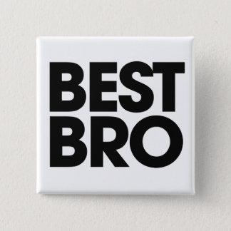 Best Bro 15 Cm Square Badge