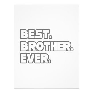 Best Brother Ever 21.5 Cm X 28 Cm Flyer