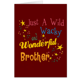Best Brother Gifts Cards