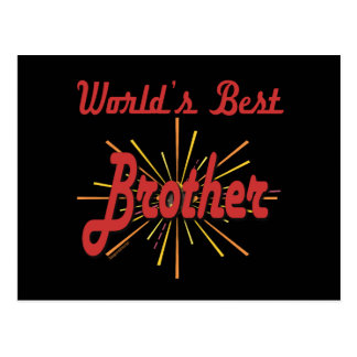 Best Brother Gifts Postcards