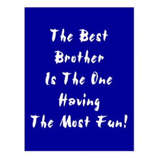 Best Brother! Postcard